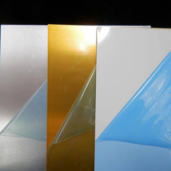low price & good quality Brushed Gold/Silver Sublimation Aluminum Sheet