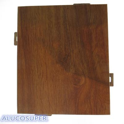 Competitive Price Wooden Coating Surface Solid Aluminum Sheet
